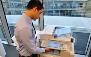 На какой счет отнести картридж для принтера